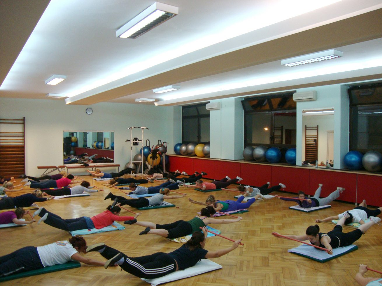 SRC TAŠMAJDAN 2008 PROGRAM PILATES